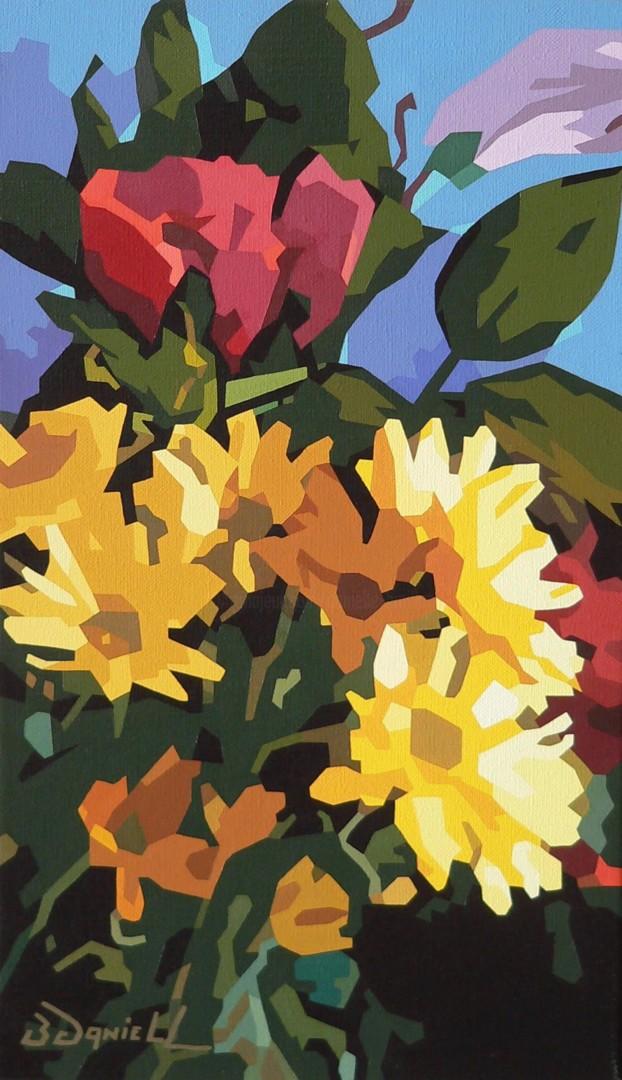Danielle Braillon (DANIELL) - Les fleurs du jardin