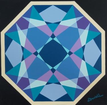 Peinture, huile, abstrait, œuvre d'art par Danielle Braillon (DANIELL)